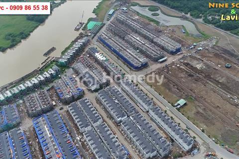 Biệt thự phố Lavila Kiến Á Group cạnh PMH, dt đất 5,5x17,6m, dtxd 201,2m2 giá tốt chỉ từ 5,75 tỷ