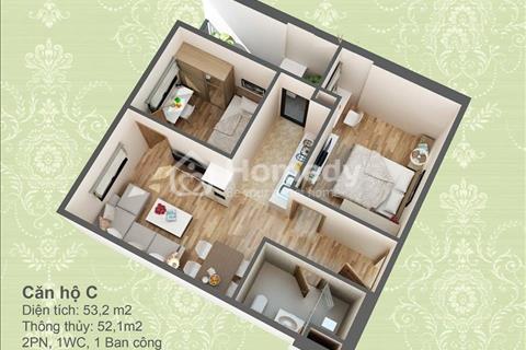 Bán căn 3 phòng ngủ 90 m2 - chung cư HUD 3 Nguyễn Đức Cảnh, miễn phí 3 năm phí dịch vụ