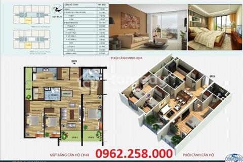 Thông tin chi tiết về căn hộ 141,6m2- Tại dự án CT4 Vimeco- Nguyễn Chánh.