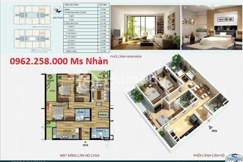 Chính chủ bán căn hộ 123m2 căn hộ số 5A và 5B chung cư CT4 Vimeco, tầng sân vườn