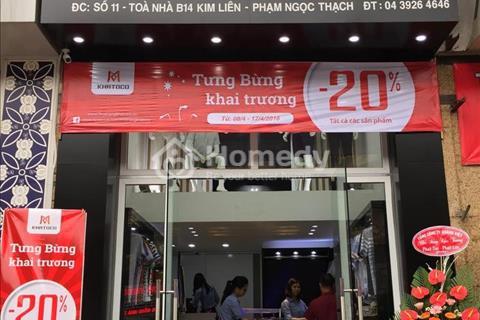 Cho thuê nhà phố Chùa Bộc 45 m2 chỉ 16tr/tháng