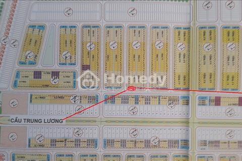 Bán đất 2 mặt tiền block B2.18 tay trái Cầu Trung Lương - Khu đô thị sinh thái Nam Hòa Xuân