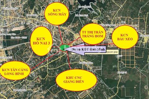 Đất thổ cư mặt tiền đường tránh Biên Hòa, liền kề các KCN lớn, Tân Cảng Long Bình, Giang Điền