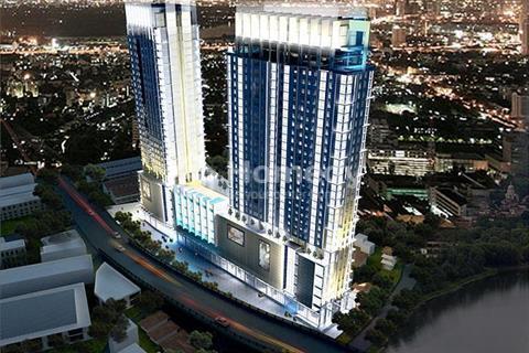 Bán căn hộ officetel River Gate, phường 6, Q4, dt 27m2, giao nhà hoàn thiện