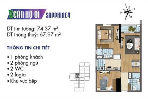 Nhận ngay iphone X khi đặt mua căn hộ Goldmark City - 136 Hồ Tùng Mậu