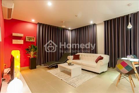 Cho thuê chung cư Trần Quang Khải, quận 1 dt 105m2 2pn/2wc đầy đủ nội thất đẹp 20tr/tháng tầng 15