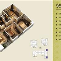 Chính chủ bán căn góc 3 phòng ngủ 1509 V3 Home City, 177 Trung Kính, giá hợp lý