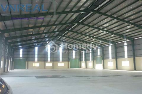 Cho thuê nhà xưởng 700 m2, khuôn viên 1,000 m2 gần vòng xoay An Phú, Thuận An, BD. 30tr/tháng