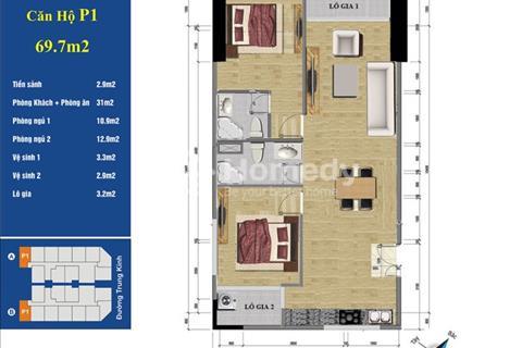 Bán lại những căn hộ tầng đẹp giá rẻ nhất thị trường dự án 219 Trung Kính