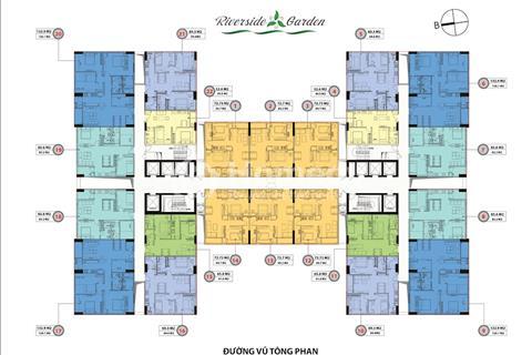 Cần bán căn hộ 133m2 CC Riverside Garden, giá 3,3 tỷ
