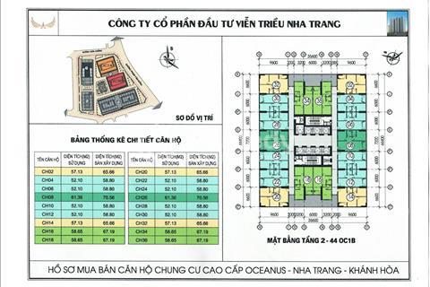 Cần bán căn hộ Mường Thanh  Viễn Triều và 04 Trần Phú view Biển giá gốc