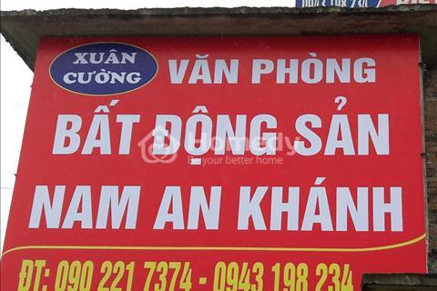 Chính chủ cần tiền cắt lỗ bán nhà đất khu đô thị Nam An Khánh Hoài Đức Hà Nội. 130m-715m2 giá rẻ