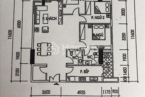 Tôi cần bán gấp căn hộ 3 PN 102,5m tại khu Ciputra, nhượng suất 150 tr