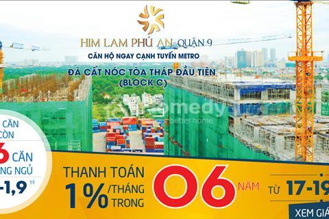 Him Lam Phú An cbi nhận nhà, Khách hàng vay Him Lam trả lãi, hỗ trợ vay 4 năm , CK lên đến  9%/căn