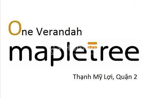 Nhận giữ chỗ ưu tiên căn hộ One Verandah – Maple Tree Singapore, 4 mặt view sông, giá 45tr/m2