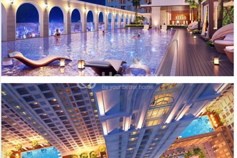 Bán căn góc view hồ bơi tầng 8 Sài gòn Mia khu Trung Sơn giá 2,85 tỷ/79m2
