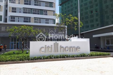Cần chuyển nhượng căn hộ dự án Citi Home Khu đô thị Cát Lái Q2, dt 59m2, giá 1,25 tỷ