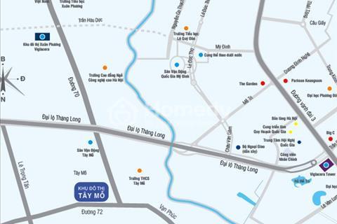 Chính chủ bán nhà liền kề mặt phố giá rẻ tại quận Nam Từ Liêm thuộc KĐT Tây Mỗ Viglacera