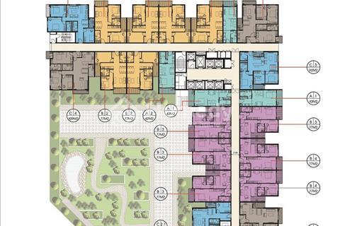 Bán chung cư The Two Gamuda 78m2 ban công Đông Nam giá gốc chủ đầu tư