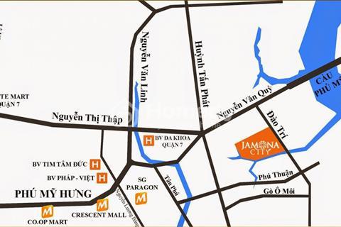 Bán đất nền dự án Jamona city, đường Đào Trí, quận 7