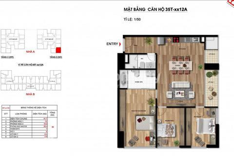 Cần bán gấp căn góc view nội khu Imperia Garden, B1512A, 105m2, muốn bán giá gốc chủ đầu tư