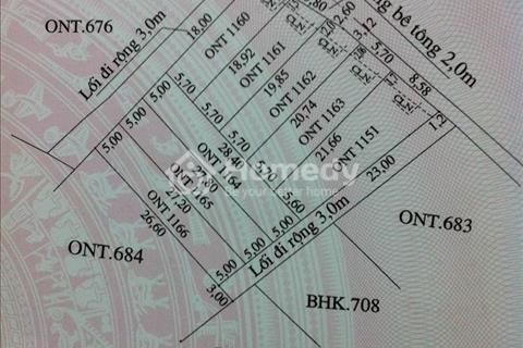 Chính chủ cần bán gấp lô đất 112 m2 tại khu du lịch sinh thái Cẩm Thanh, Hội An