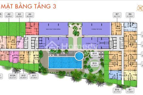 Trung tâm thương mại dự án Moonlight Residences mặt tiền đường Đặng Văn Bi