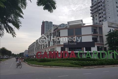 Cho thuê Shophouse Gamuda 75m2 xây 4 tầng 25 triệu/tháng thuê lâu dài