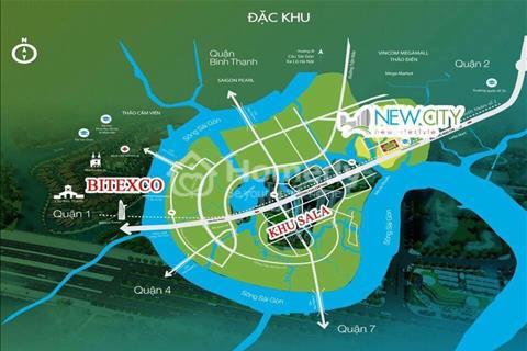 New City Thủ Thiêm quận 2, siêu dự án liền kề quận 1, đối diện Sala chỉ 40 triệu/m2, chiết khấu 6%
