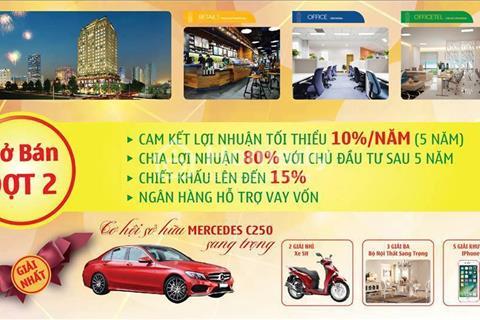 Cho thuê shophouse Trung Tâm Phú Mỹ Hưng Q7 giá 35 USD/m2