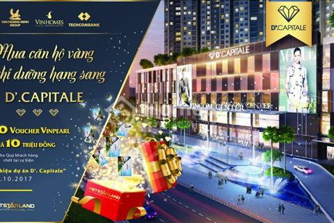 Sự kiện giới thiệu dự án D'. Capitale mua căn hộ vàng – nghỉ dưỡng hạng sang cùng D'.Capitale