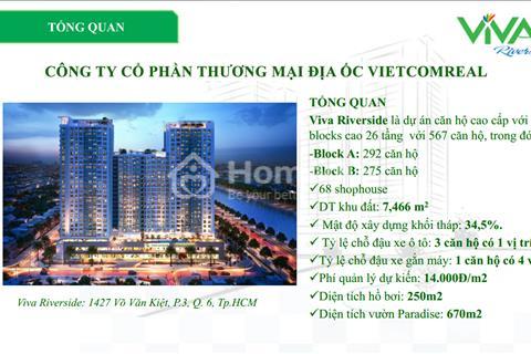 Căn hộ MT Võ Văn Kiệt Q6, View nhìn về Q1 Bitexco, Giá 1,9 tỷ căn. TT 30% có nhà. LH để xem nhà mẫu