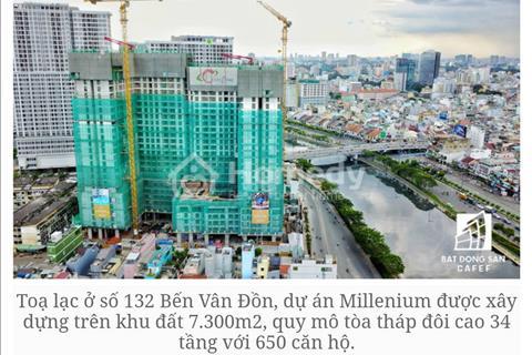 Văn phòng đa năng Millennium bán căn view quận 1, sỡ hữu lâu dài, giá chỉ từ 2.4 tỷ
