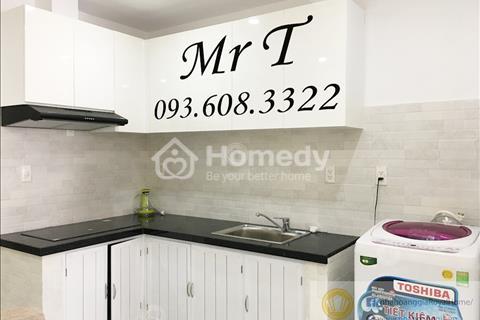 Cho thuê căn hộ Duplex làm văn phòng hoặc ở lại, trệt, lửng, giá 18 triệu/tháng.