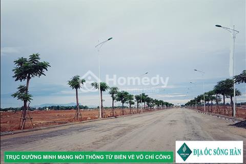 Cần bán đất Nam Hòa Xuân B2.64 tây bắc sát đường 15m qua Minh Mạng đất đẹp giá 1.03 tỷ