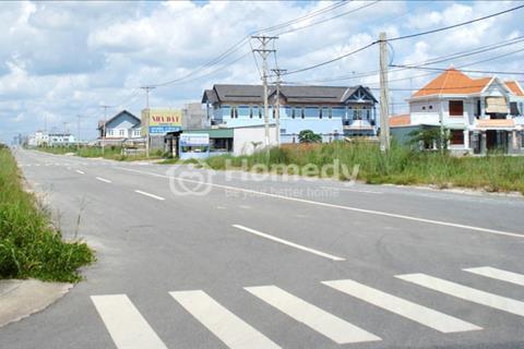 Đất xây kho xưởng, nhà trọ, đầu tư kinh doanh, khu vực Bình Chánh Long An trục đường tỉnh lộ 10