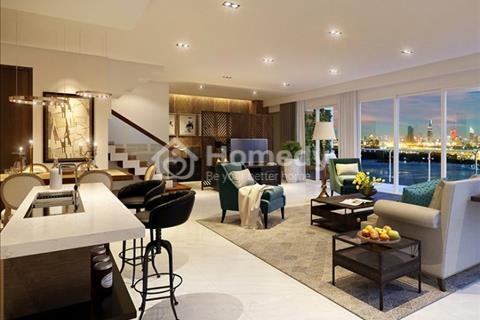 Căn Sky villa Đảo Kim Cương bán  tầng 24-25 view sông diện tích 329 m2