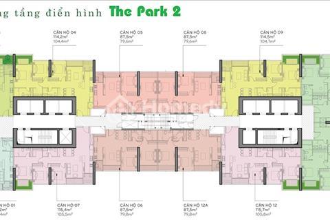 Bán lỗ 500 triệu căn hộ Park 2 tầng 10 căn số 10 Vinhomes Central Park
