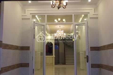 Bán nhà mới 1 trệt 1 lầu gần  đường số 2 và nằm ngay cổng trường Thpt An Khánh, Kdc An Khánh