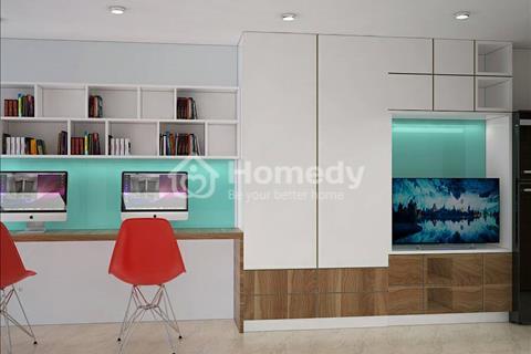 Cho thuê căn hộ văn phòng officetel River Gate, Q.4, diện tích từ 27m2 - 30m2, giá thuê 10tr/tháng