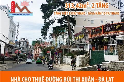 Nhà cho thuê Bùi Thị Xuân – Phường 2 – TP. Đà Lạt