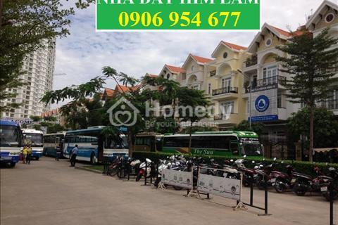 Cho thuê nhà phố mặt tiền Nguyễn Thị Thập, 5x20m 1hầm 1trệt 4lầu thang máy, full máy lạnh hướng Bắc
