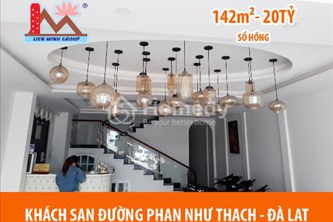 Khách sạn vị trí trung tâm thành phố, tập trung nhiều khách du lịch tọa lạc đường Phan Như Thạch –