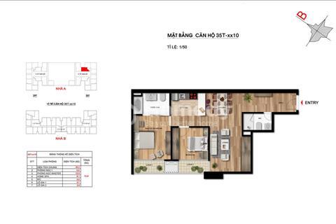 Cần bán gấp căn hộ A2010, 2 phòng ngủ, 78m2, Imperia Garden, giá thỏa thuận