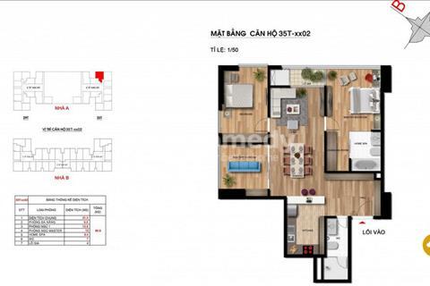 Cắt lỗ 150 triệu căn hộ A02 - 96 m2 giá 3,3 tỷ, Imperia Garden có thương lượng vì đang cần bán gấp
