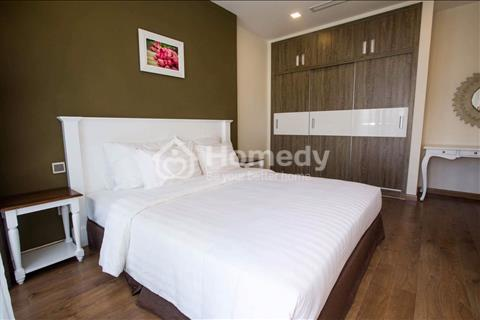 Cho thuê căn hộ cao cấp 4 phòng ngủ đầy đủ nội thất tại Vinhome Tân Cảng
