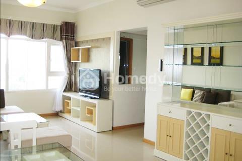 Cần cho thuê căn hộ chung cư Central Garden, 80 m2, 2 phòng ngủ, giá 14 triệu/tháng ( Bao phí )
