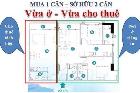 Căn hộ Soho Premier- Xô Viết Nghệ Tĩnh bán căn 3 PN tặng nội thất 190tr, chỉ TT 30% nhận nhà