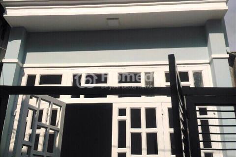 Nhà mới quận 12, cách Ngả Tư Ga 400m, 1 trệt 1 lững (4x14m). Giá 1.7 Tỷ