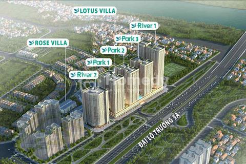 (Hot) ra hàng đợt 1 căn tầng đẹp nhất tòa Park 1 dự án Eurowindow River Park, chỉ từ 16 triệu/m2